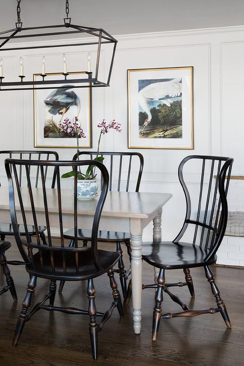 19-vintage-wooden-dining-table-and-chairs