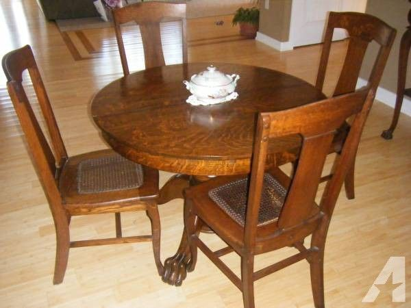 Antique Oak Tiger Wood Dining Room Set 1800 Wood Dining Room Set Oak Dining Room Table Antique Dining Room Chairs