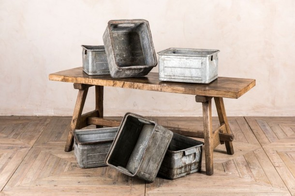 Vintage Tables Industrial Tables Peppermill Interiors