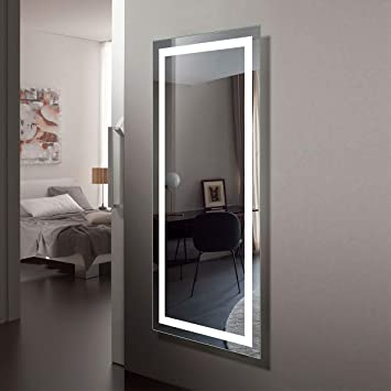Full Length Wall Mirror With Lights